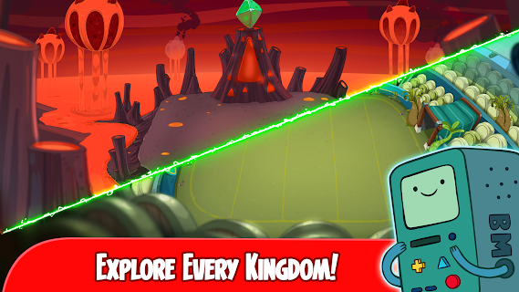 Screenshot 3: Champions and Challengers - Adventure Time