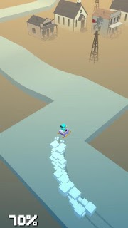 Screenshot 1: Snow Drifting