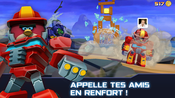 Screenshot 3: Angry Birds Transformers
