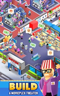 Screenshot 1: Box Office Tycoon