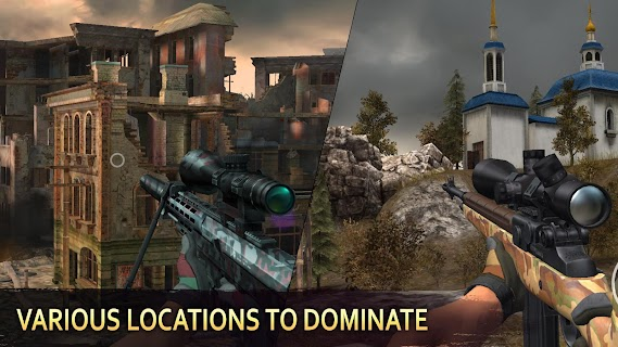 Screenshot 3: Sniper Arena: PvP Army Shooter