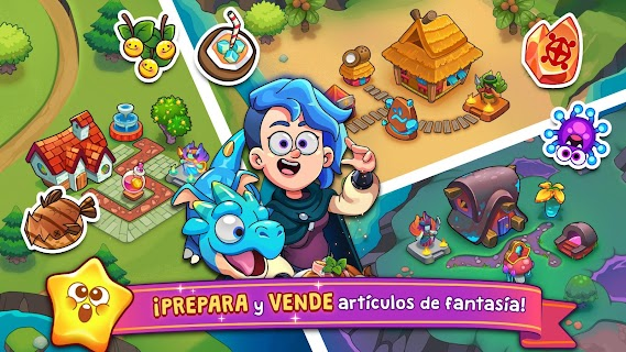Screenshot 2: Potion Punch 2: Mágicas aventuras culinarias