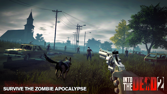 Screenshot 1: Into the Dead 2: Zombie Survival