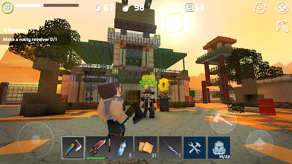 Screenshot 1: LastCraft Survival