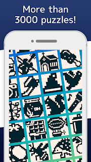 Screenshot 1: Nonograms 999 griddlers