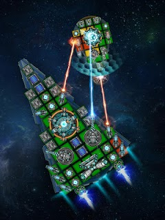 Screenshot 3: Space Arena: Galáctica Armada