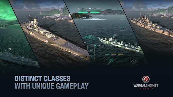 Screenshot 2: World of Warships Blitz: Gunship Action War Game
