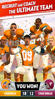 Screenshot 1: Rival Stars College Football