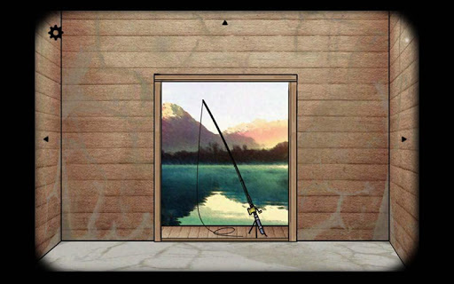 Screenshot 1: Cube Escape: The Lake