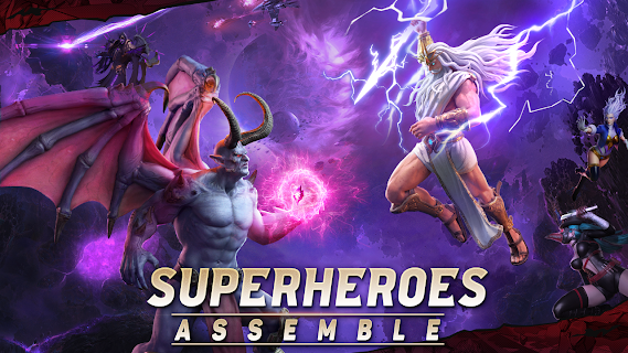 Screenshot 2: X-HERO: Idle Avengers