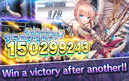 Screenshot 2: Valkyrie Crusade (Anime-Style TCG x Builder Game)