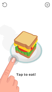 Screenshot 2: Sandwich!