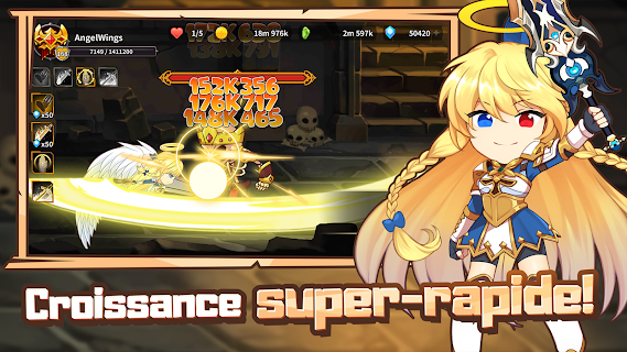Screenshot 3: Raising Archangel: AFK Angel Adventure | Globale
