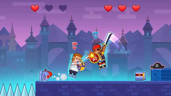 Screenshot 2: Swing Battle Knight