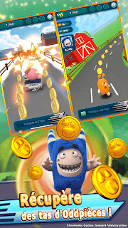 Screenshot 3: Oddbods Turbo Run