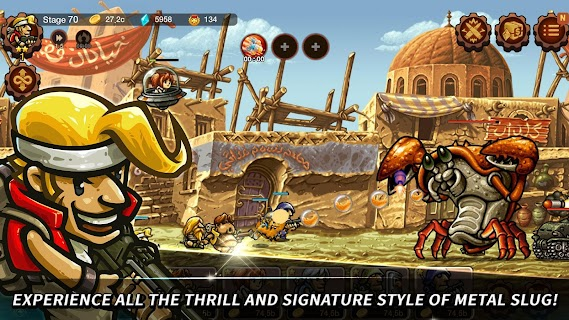 Screenshot 1: Metal Slug Infinity : Idle Game | Global