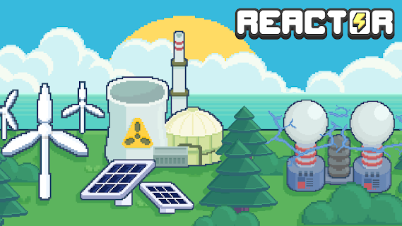 Screenshot 1: Reactor - Idle Tycoon. Energy Business Manager