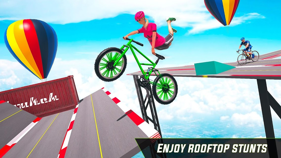 bmx cycle stunt games free download
