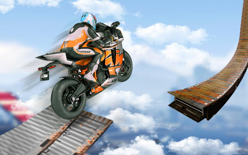 Screenshot 1: Bike Impossible Tracks Race: 3D Motorcycle Stunts