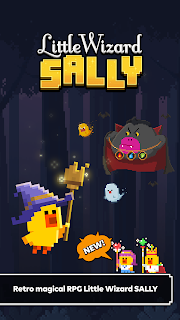 Screenshot 1: Little Wizard Sally