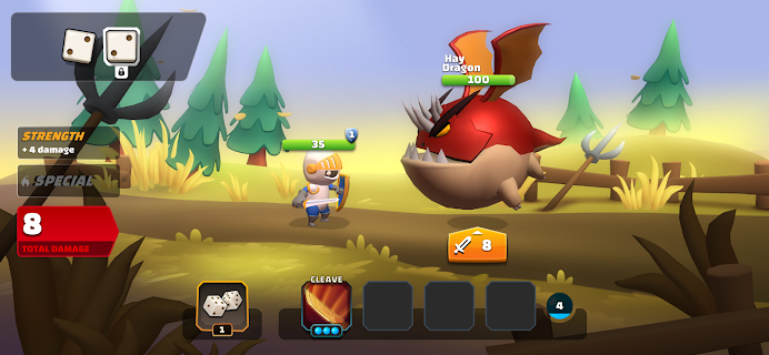 Screenshot 3: Dice Quest