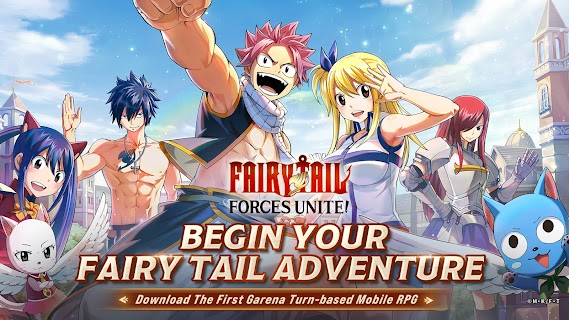Screenshot 1: FAIRY TAIL: Forces Unite! | อังกฤษ
