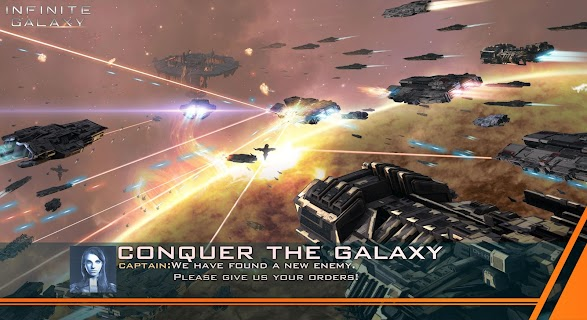 Screenshot 1: Infinite Galaxy