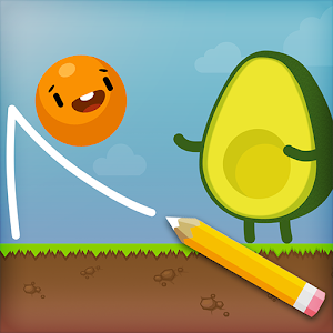 Icon: Where's My Avocado? Draw lines
