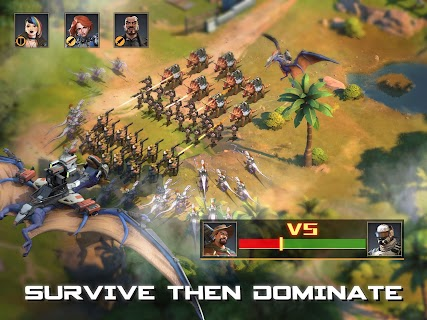 Screenshot 3: Dino War: Rise of Beasts