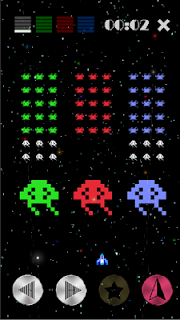 Screenshot 4: Color Invaders (Free Game) Retro Shooting