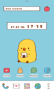 Screenshot 2: Cute Wallpaper Lunch for One Theme