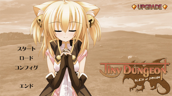 Screenshot 1: Tiny Dungeon ~BLESS of DRAGON~
