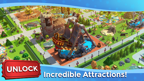 Screenshot 2: RollerCoaster Tycoon Touch - Build your Theme Park