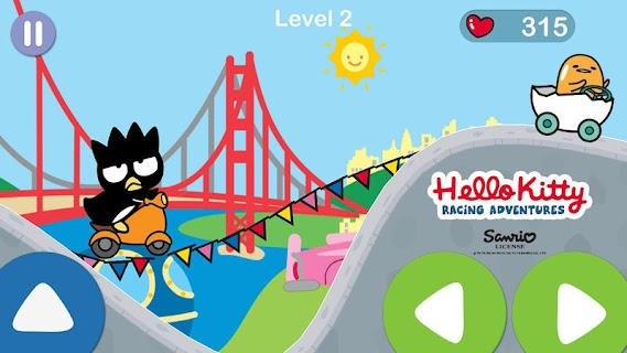 Screenshot 3: Hello Kitty juego de aventura de carreras