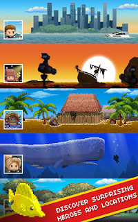 Screenshot 4: Desert Island Fishing