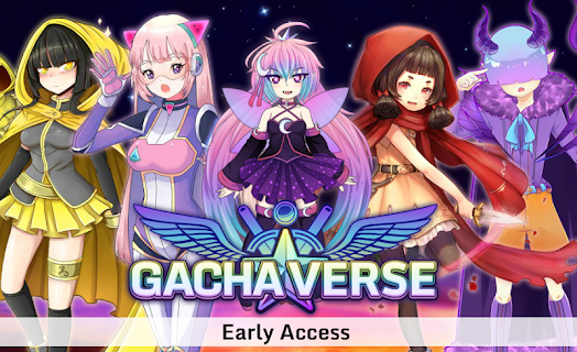 Screenshot 1: Gachaverse (RPG & Anime Dress Up)