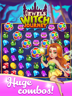 Screenshot 4: Jewels Witch Journey