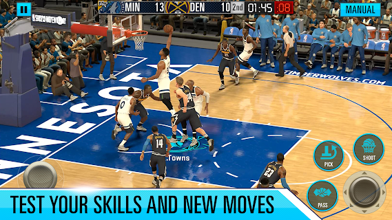 Screenshot 3: NBA 2K Mobile Basketball