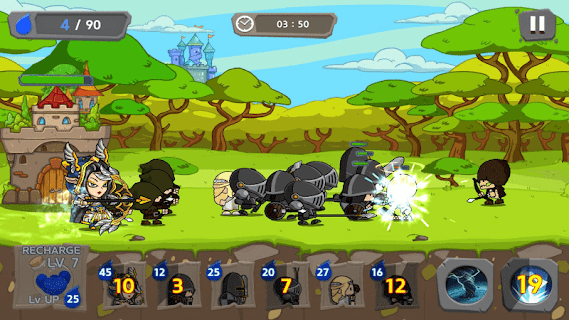 Screenshot 1: Royal Defense King