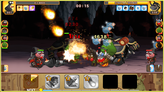 Screenshot 4: Larva Heroes2: Battle PVP