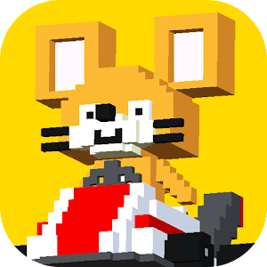 Icon: Cat & Mouse Road ~meows queak~