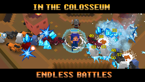 Screenshot 4: Pixel Knights