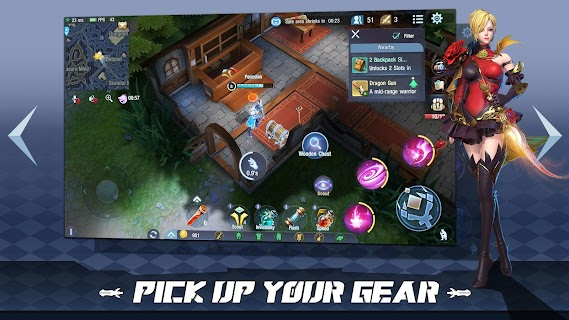 Screenshot 4: Survival Heroes - MOBA Battle Royale
