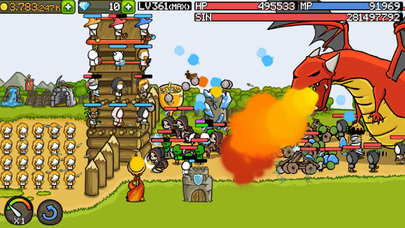 Screenshot 3: Grow Castle