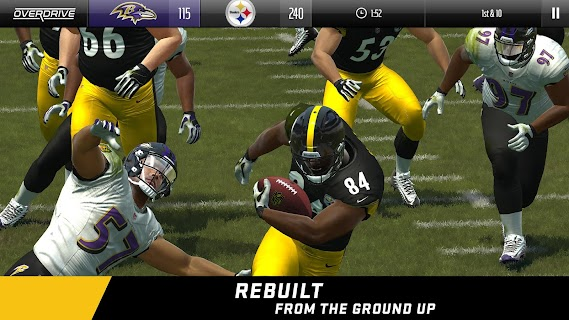 Screenshot 1: Madden NFL Overdrive Football