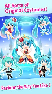Screenshot 4: Hatsune Miku -TAP WONDER-