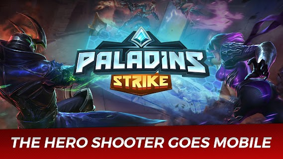 Screenshot 1: Paladins Strike