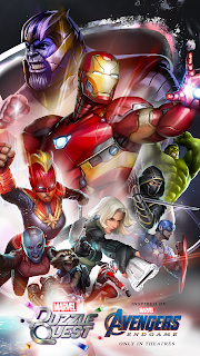 Screenshot 1: Marvel Puzzle Quest