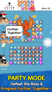 Screenshot 2: Auto Puzzle Defense : Ninja Block