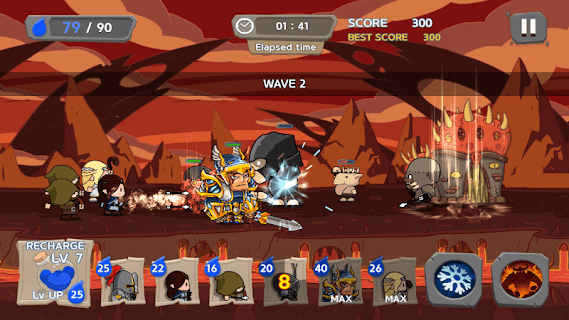 Screenshot 4: Royal Defense King